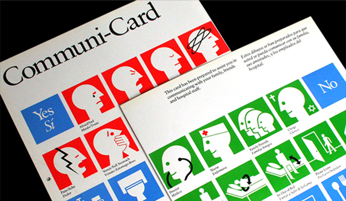 Communi-Card AIGA 100 Years of Design