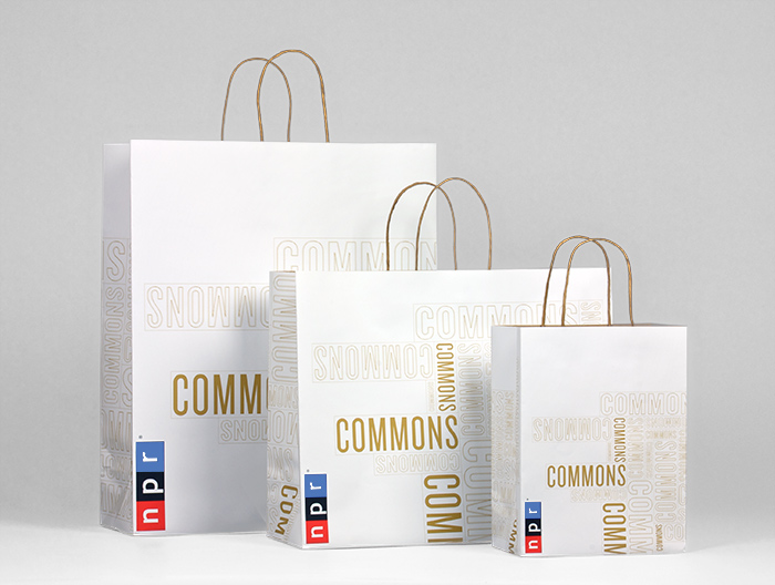 NPR Commons shopping bags