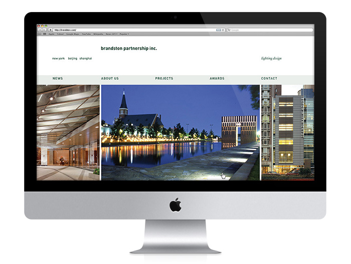 Brandston Partnership Inc. website