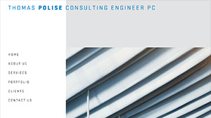 Thomas Polise Consulting Engineer website design