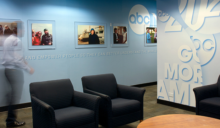 ABC News Reception Mural