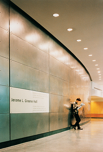 Columbia Law School Donor Wall Identification