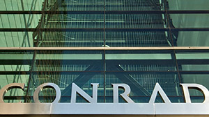 Conrad New York environmental design
