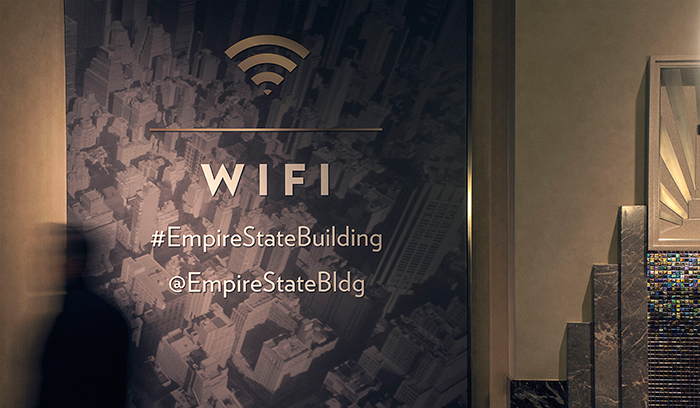 Empire State Building Experience Interior