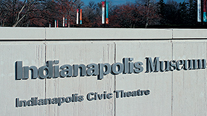 Indianapolis Museum of Art building identification