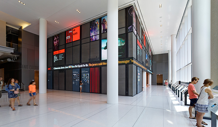 NPR Headquarters Lobby
