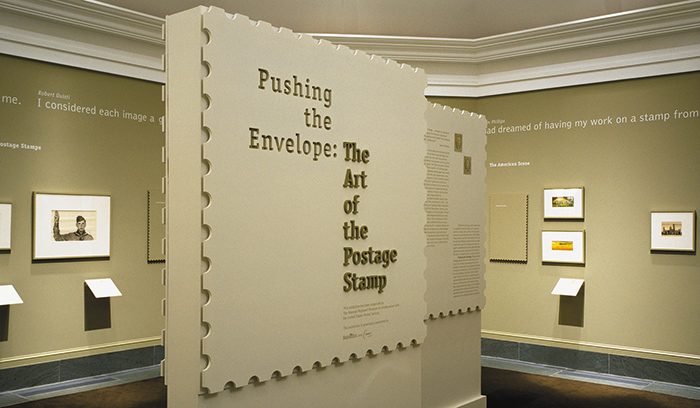 three-dimensional exhibition panels